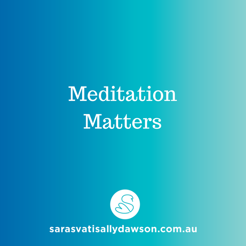 Meditation Matters Learn to Meditate Course