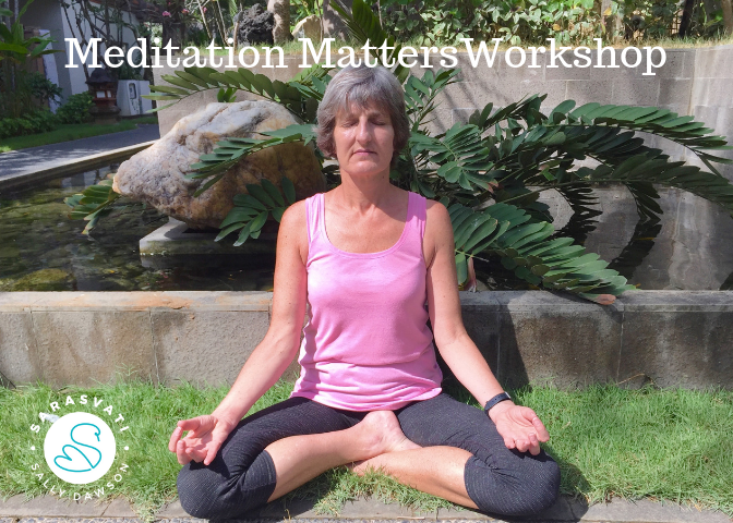 Meditation Matters Learn to Meditate Workshop