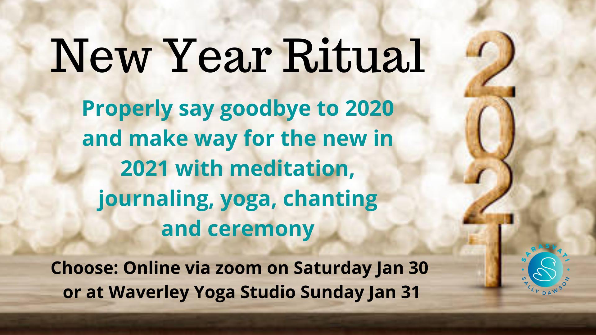 New Year Ritual 2021