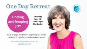 One day retreat - finding and keeping joy